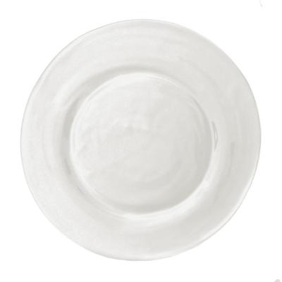 $17.00 Le Cadeaux rustique cream dinner plate