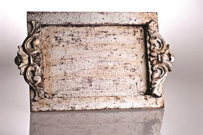 $64.00 Abigails 524808 tray vanity vendome silver