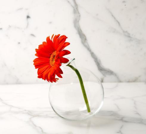 "$22.00 Europe2you Sphere Vase 5"" Mist"