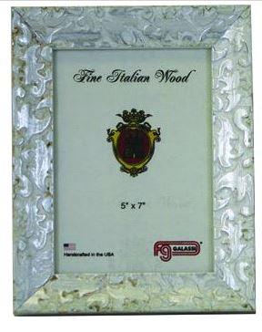 $60.00 8x10 Silver Ornate Frame