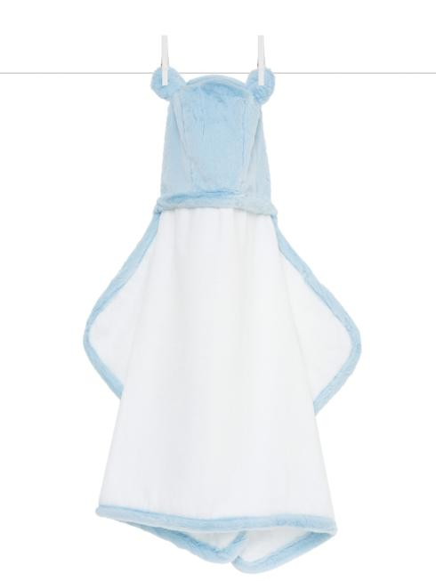 $49.00 Luxe Hooded Towel Blue