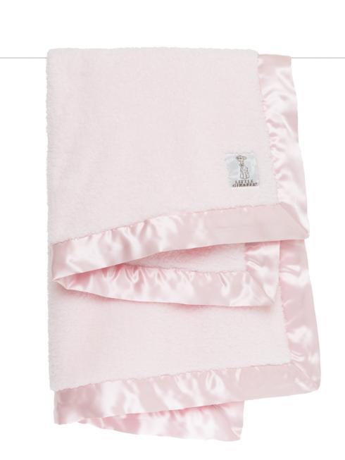 $69.00 Chenille Baby Blanket Pink