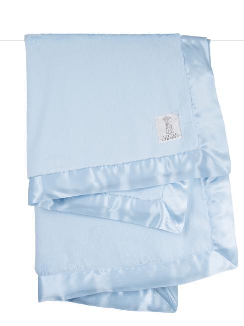$86.00 Luxe Baby Blanket Blue