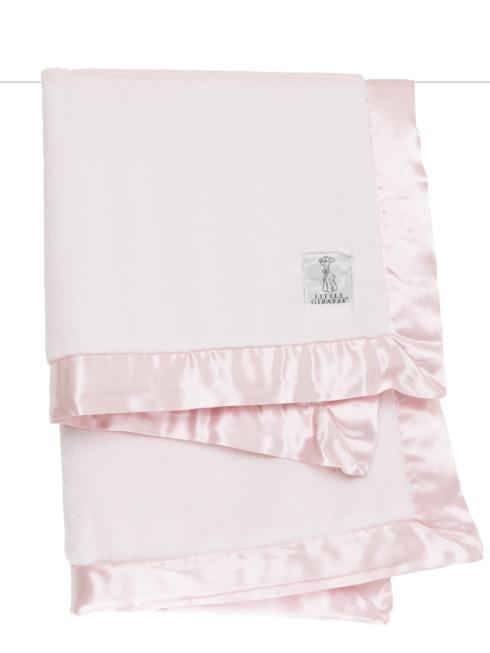 $86.00 Luxe Baby Blanket Pink