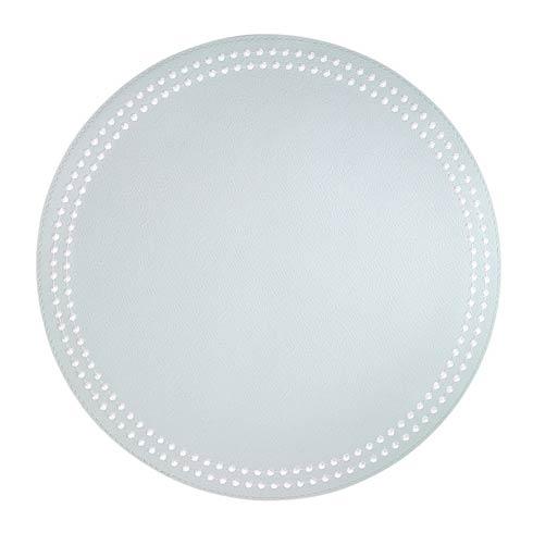$126.00 Celadon White Mats - Pack of 4