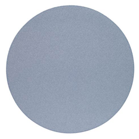 """$162.00 Ice Blue 16"""" Rd Mats - Pack of 6"""