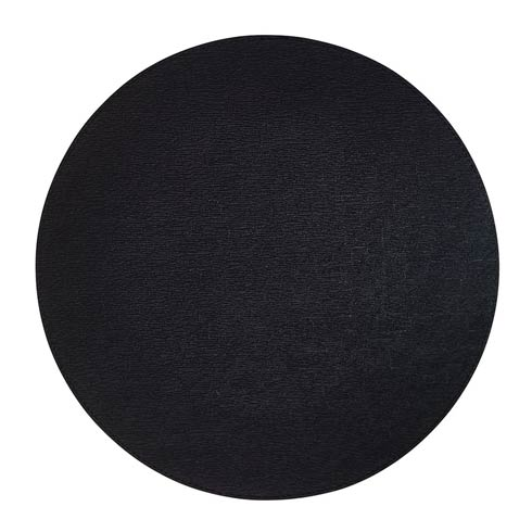 "$86.00 Black 15"" Rd Mats - Pack of 4"