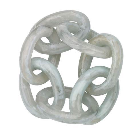 $50.00 Link Celadon Napkin Ring - Pack of 4