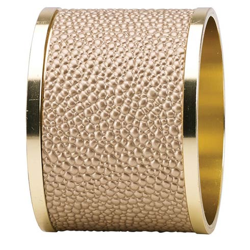 $68.00 Antique Gold Napkin Ring - Pack of 4