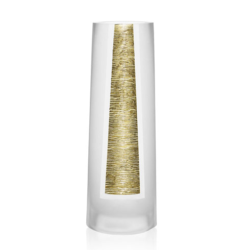 $89.00 The Gold Standard Hand Decorated Vase