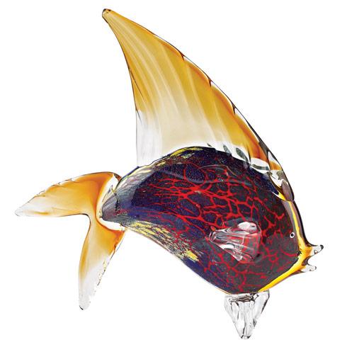$185.00 Firestorm Fish Figurine