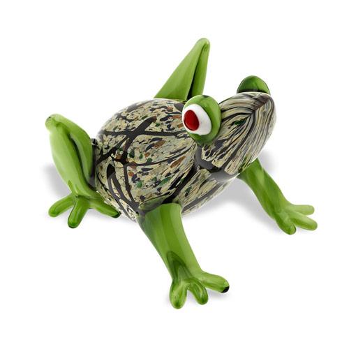 $59.00 Art Glass Frog