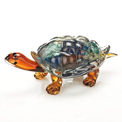 $129.00 Art Glass Turtle