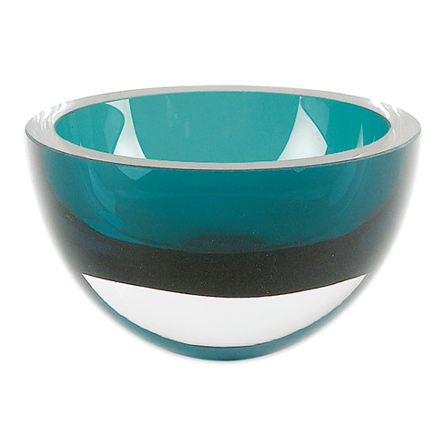 "$69.00 Peacock Blue 6"" Penelope  Bowl"