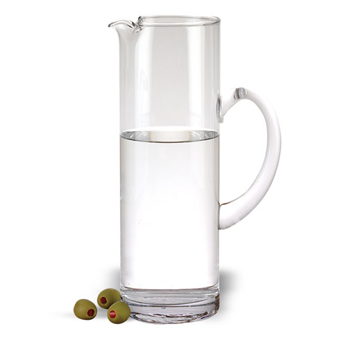 $25.00 Celebrate Handmade Glass Pitcher