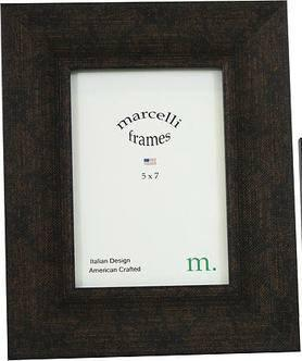 $72.95 CONTEMPORARY BROWN FINISH FRAME