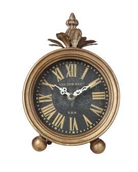 $45.00 GOLD TABLE CLOCK