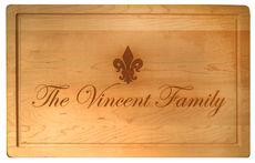 $119.00 RECTANGULAR WOODEN BOARD