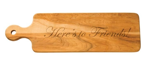 $65.00 WOODEN BREAD BOARD