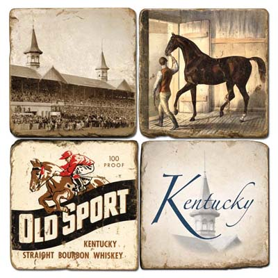$44.00 KY DERBY COASTERS