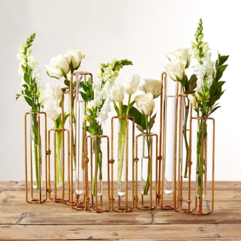 $165.00 HINGED FLOWER VASES