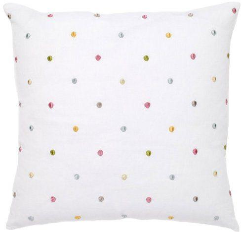 $59.00 PILLOW W/ EMBROIDERED DOTS