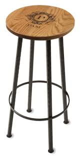 $216.00 BAR STOOL W/ GOLDEN OAK TOP