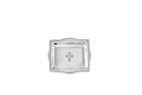 $68.00 Cross Rectangular Tray (4x6)