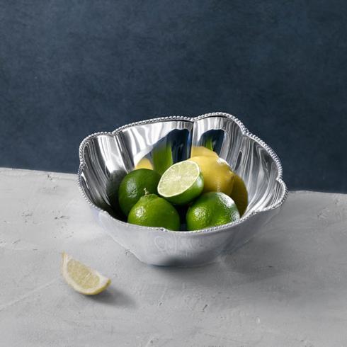 $75.00 PEARL denisse square bowl (MD)