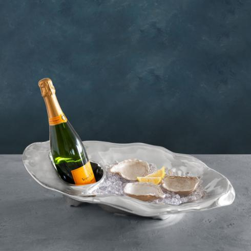 $198.00 champagne oyster bucket