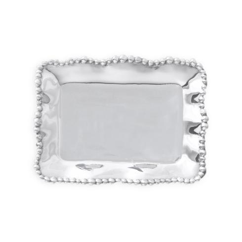 $39.00 Organic Pearl rect tray plain