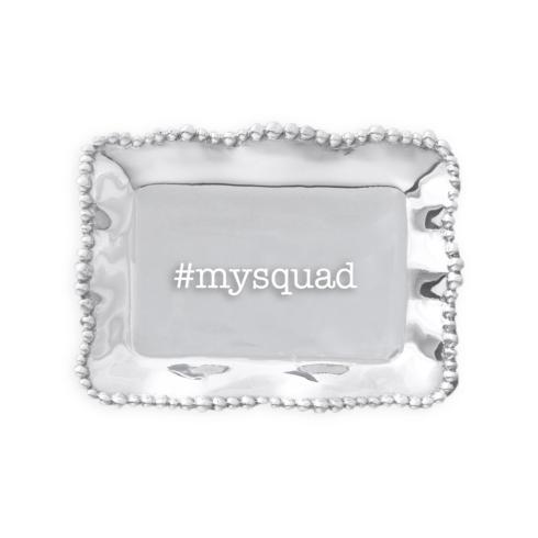 $39.00 Organic Pearl rect tray #mysquad