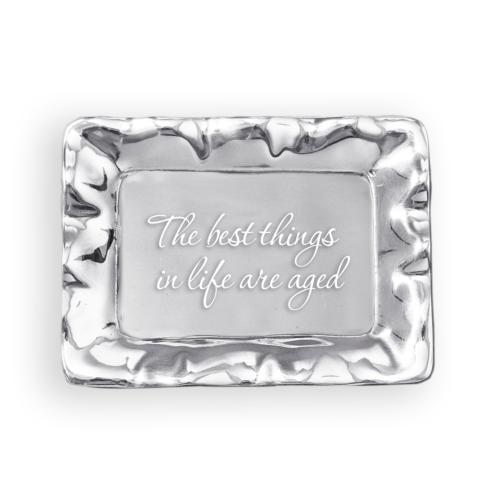 $39.00 Vento rect tray -  The best things in life are aged