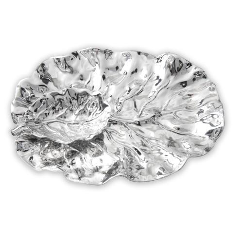 $197.00 leaf platter w/dip bowl