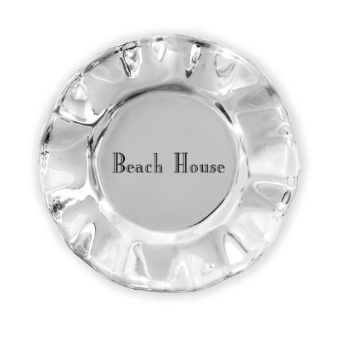 $39.00 Vento Round Wine Plate- Beach House