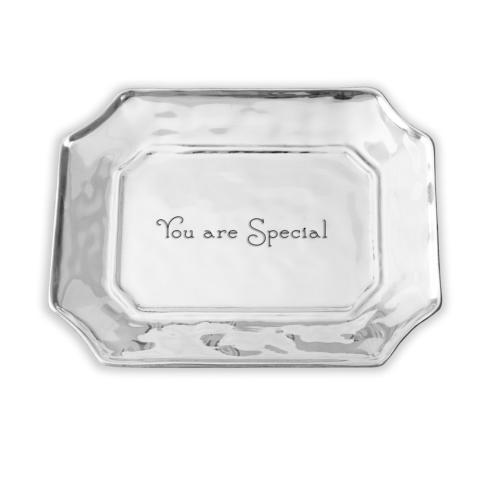 $60.00 Rect Tray- You Are Special