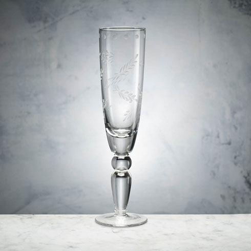 $26.00 JARDIN CHAMPAGNE FLUTE CLEAR