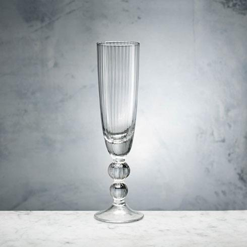 $26.00 VENICE CHAMPAGNE FLUTE CLEAR