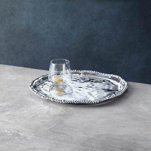 $123.00 Round Platter