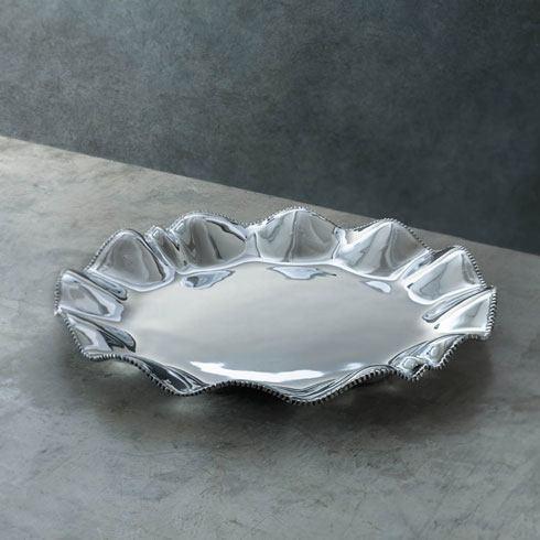 $104.00 Denisse Round Platter With Handles