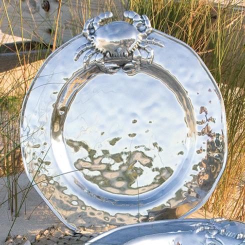 $130.00 Crab Plate Medium