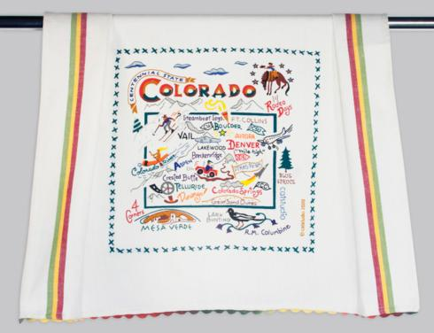 $22.00 Colorado Dish Towel