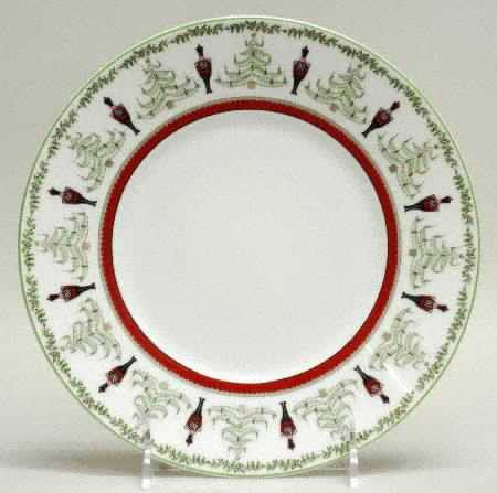 $64.00 Grenadiers red stripe accent salad