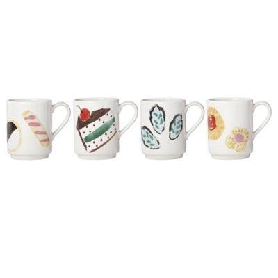 $40.00 One Smart Cookie set of 4 mugs