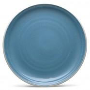 $19.00 Colorvava Blue dinner plate