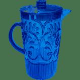 $38.00 Fleur Blue Pitcher