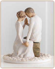 $42.00 Willow Tree - Cake Topper - Around You