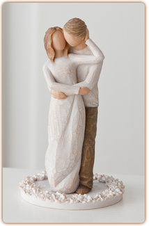 $42.00 Willow Tree - Cake Topper - Together