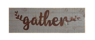 "$20.95 ""Gather"" Sign"