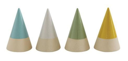$9.95 Green Stoneware Cone